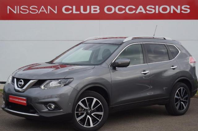 voiture occasion nissan x trail 1 6 dci 130ch tekna xtronic euro6 7 places 2016 diesel 28630. Black Bedroom Furniture Sets. Home Design Ideas