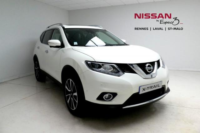 voiture occasion nissan x trail 2 0 dci 177ch tekna xtronic 7 places 2017 diesel 35510 cesson. Black Bedroom Furniture Sets. Home Design Ideas