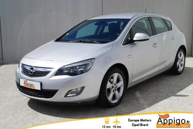 voiture occasion opel astra 1 4 turbo 140ch sport 2010. Black Bedroom Furniture Sets. Home Design Ideas