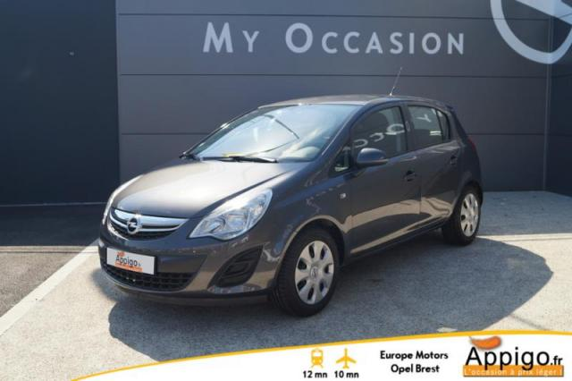 voiture occasion opel corsa 1 2 twinport edition gpl 5p 2012 gpl 29200 brest finist re. Black Bedroom Furniture Sets. Home Design Ideas