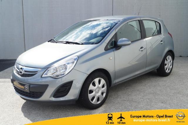 voiture occasion opel corsa 1 3 cdti 75ch fap graphite 5p 2013 diesel 29200 brest finist re. Black Bedroom Furniture Sets. Home Design Ideas