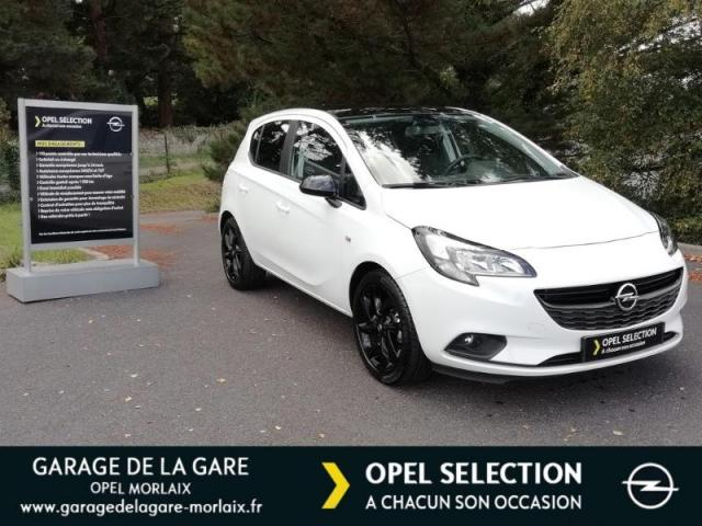 voiture occasion opel corsa 1 4 90ch black edition 5p 2018 essence 29600 saint martin des champs. Black Bedroom Furniture Sets. Home Design Ideas