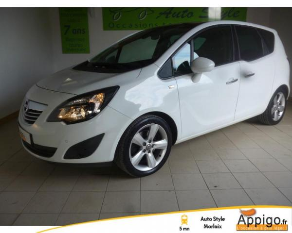 voiture occasion opel meriva 1 7 cdti130 fap cosmo 2011 diesel 29600 saint martin des champs. Black Bedroom Furniture Sets. Home Design Ideas