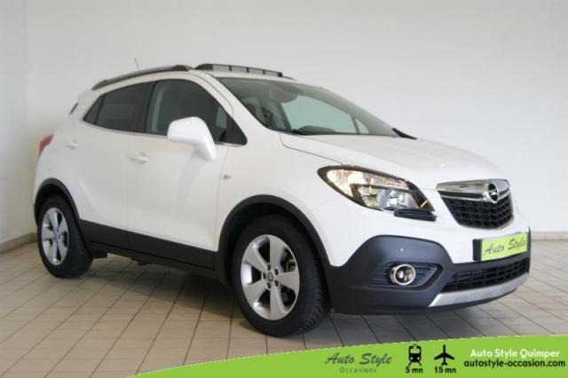 voiture occasion opel mokka 1 4 turbo 140ch cosmo pack start stop 4x2 2016 essence 29000 quimper. Black Bedroom Furniture Sets. Home Design Ideas