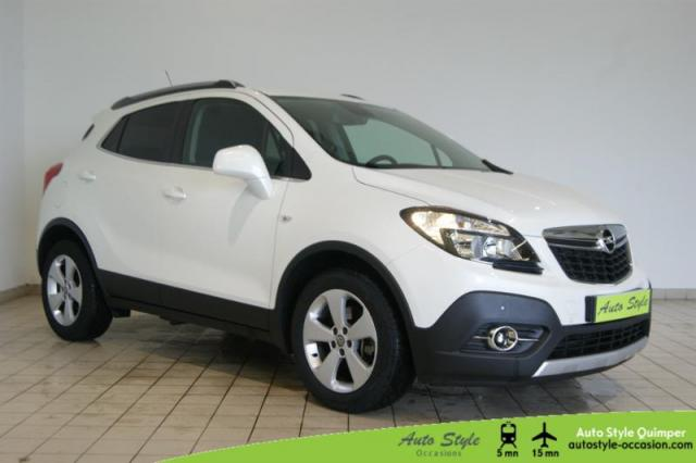 voiture occasion opel mokka 1 4 turbo 140ch cosmo start stop 4x2 2016 essence 29000 quimper. Black Bedroom Furniture Sets. Home Design Ideas