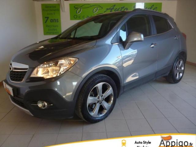 voiture occasion opel mokka 1 7 cdti 130ch cosmo ecoflex start stop 4x2 2013 diesel 29600 saint. Black Bedroom Furniture Sets. Home Design Ideas