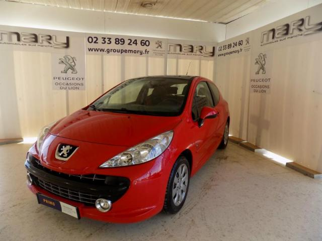voiture occasion peugeot 207 1 6 hdi90 s rie 64 3p 2009 diesel 50300 avranches manche. Black Bedroom Furniture Sets. Home Design Ideas