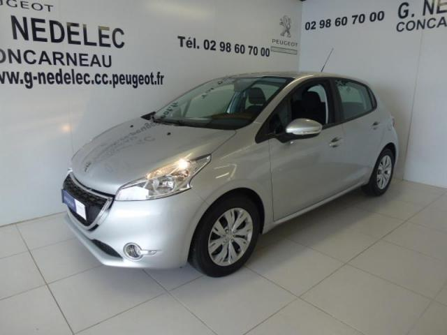 Voiture occasion peugeot 208 1 4 hdi fap active 5p 2015 for Garage peugeot concarneau