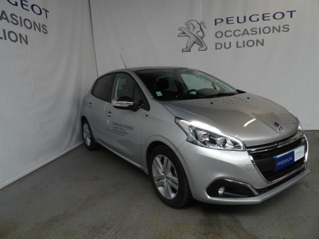 voiture occasion peugeot 208 1 6 bluehdi 75ch style 5p 2017 diesel 50000 saint l manche. Black Bedroom Furniture Sets. Home Design Ideas
