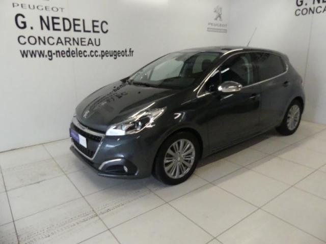 Voiture occasion peugeot 208 1 6 bluehdi 100ch allure 5p for Garage peugeot concarneau