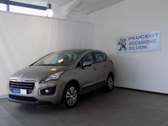 voiture occasion peugeot 3008 2 0 bluehdi 150ch active business s s 2015 diesel 14800 deauville. Black Bedroom Furniture Sets. Home Design Ideas