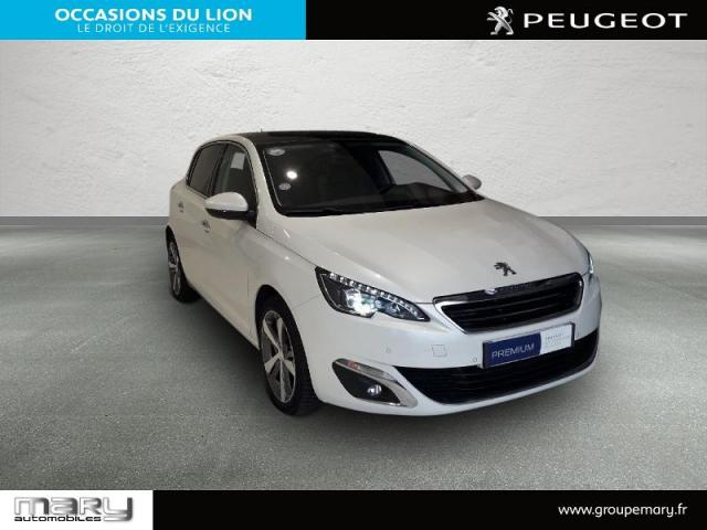 voiture occasion peugeot 308 1 2 puretech 130ch f line s s eat6 5p 2016 essence 14400 bayeux. Black Bedroom Furniture Sets. Home Design Ideas