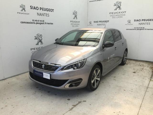 voiture occasion peugeot 308 1 2 puretech 130ch gt line s s 5p 2017 essence 44700 orvault loire. Black Bedroom Furniture Sets. Home Design Ideas