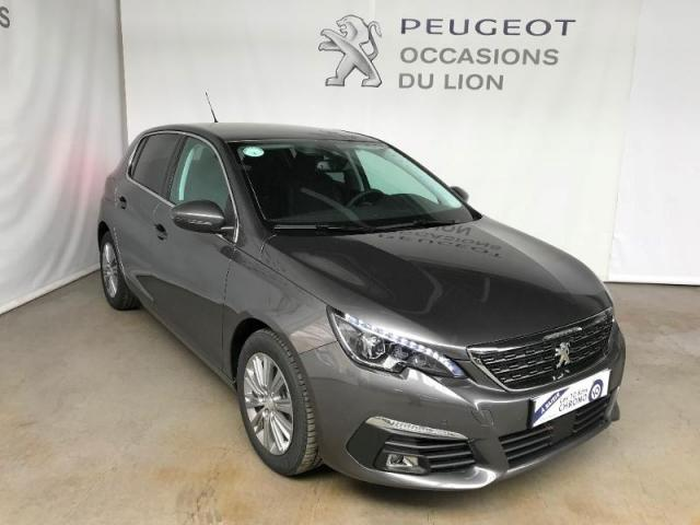 voiture occasion peugeot 308 1 5 bluehdi 130ch allure s s 2018 diesel 50000 saint l manche. Black Bedroom Furniture Sets. Home Design Ideas