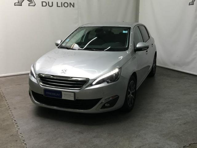 voiture occasion peugeot 308 1 6 bluehdi 100ch allure s s 5p 2017 diesel 14100 lisieux calvados. Black Bedroom Furniture Sets. Home Design Ideas