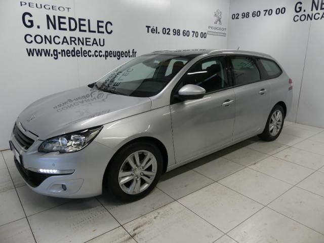 Voiture occasion peugeot 308 sw 1 6 bluehdi 120ch active for Garage peugeot concarneau
