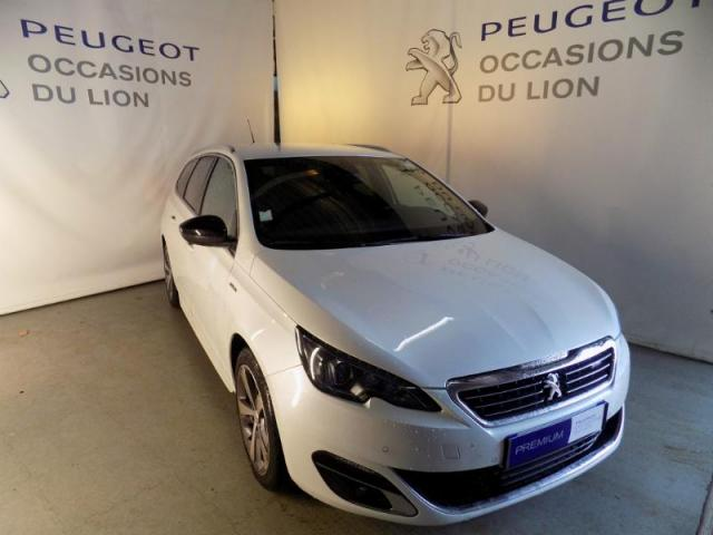 voiture occasion peugeot 308 sw 1 6 bluehdi 120ch gt line s s 2016 diesel 50110 tourlaville. Black Bedroom Furniture Sets. Home Design Ideas