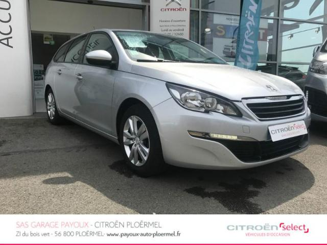 Voiture occasion peugeot 308 sw 1 6 e hdi fap 115ch for Occasion garage peugeot ploermel