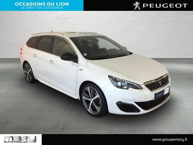 voiture occasion peugeot 308 sw 2 0 bluehdi 180ch gt s s eat6 2016 diesel 14800 deauville. Black Bedroom Furniture Sets. Home Design Ideas