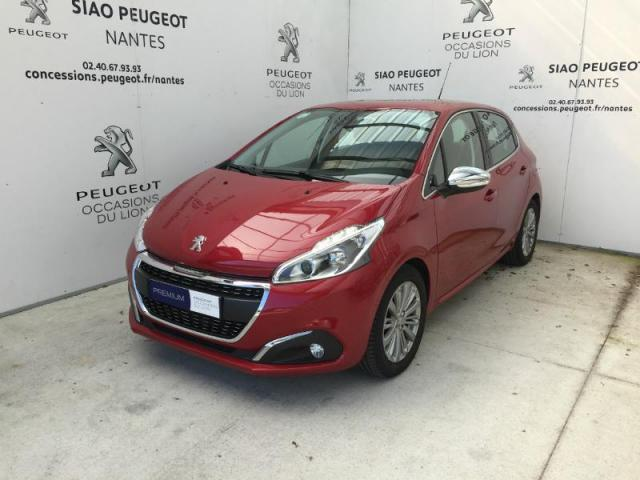 voiture occasion peugeot 208 1 6 bluehdi 100ch allure 5p 2017 diesel 44700 orvault loire. Black Bedroom Furniture Sets. Home Design Ideas