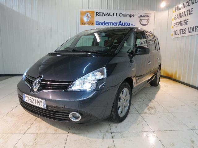 voiture occasion renault espace 2 0 dci 175 fap intens 2013 diesel 29000 quimper finist re. Black Bedroom Furniture Sets. Home Design Ideas