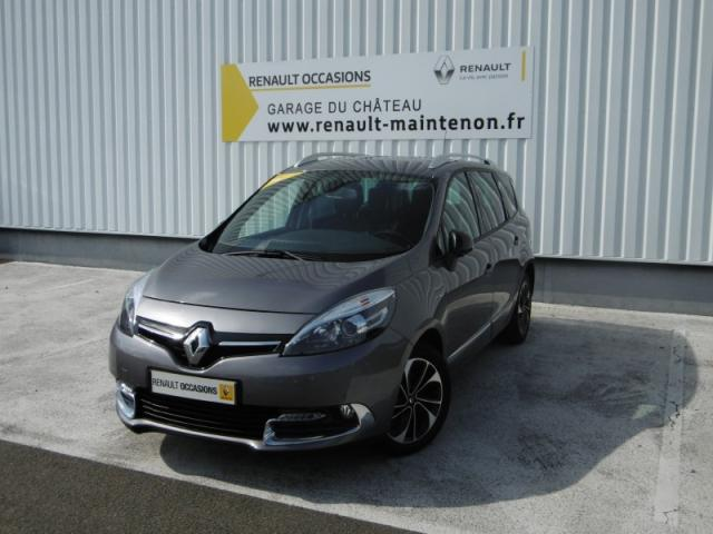 voiture occasion renault grand scenic scenic ii tce 130 energy bose edition 7 pl 2016 essence. Black Bedroom Furniture Sets. Home Design Ideas