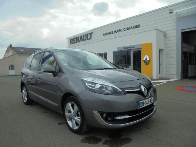 voiture occasion renault grand scenic 1 5 dci 110ch dynamique 7 places 2013 diesel 44650 leg. Black Bedroom Furniture Sets. Home Design Ideas