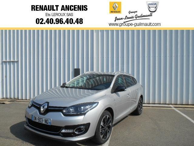 voiture occasion renault megane estate estate iii 1 5 dci 110 fap eco2 bose edc 2015 diesel. Black Bedroom Furniture Sets. Home Design Ideas