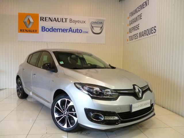 voiture occasion renault megane iii tce 130 energy eco2 bose 2015 essence 14400 bayeux calvados. Black Bedroom Furniture Sets. Home Design Ideas