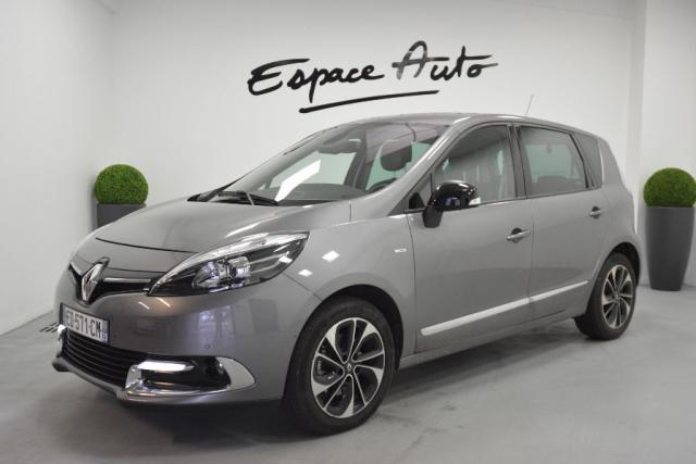 voiture occasion renault scenic 1 6 dci 130ch energy bose euro6 2015 2016 diesel 29000 quimper. Black Bedroom Furniture Sets. Home Design Ideas