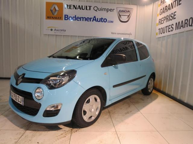 voiture occasion renault twingo ii 1 5 dci 75 eco2 authentique 2012 diesel 29000 quimper. Black Bedroom Furniture Sets. Home Design Ideas