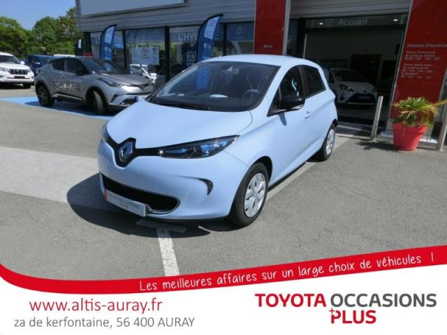 voiture occasion renault zo life charge rapide type 2 2016 electrique 56400 pluneret morbihan. Black Bedroom Furniture Sets. Home Design Ideas