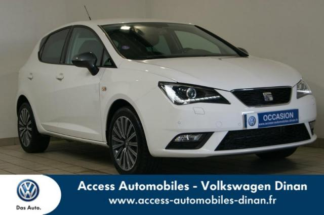 voiture occasion seat ibiza 1 2 tsi 110ch connect 2015 essence 22100 qu vert c tes d 39 armor. Black Bedroom Furniture Sets. Home Design Ideas