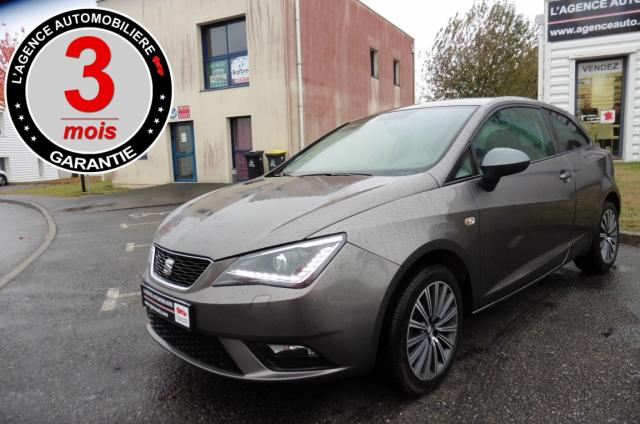 voiture occasion seat ibiza 1 2 tsi 90ch connect 2016 essence 56000 vannes morbihan. Black Bedroom Furniture Sets. Home Design Ideas