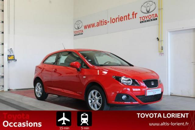 voiture occasion seat ibiza 1 2 tdi75 fap style 3p 2011 diesel 56600 lanester morbihan. Black Bedroom Furniture Sets. Home Design Ideas