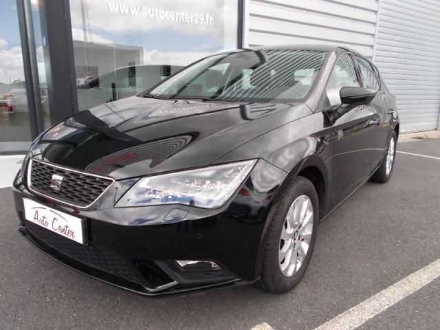 voiture occasion seat leon 1 6 tdi 105ch fap style business start stop 2014 diesel 29470. Black Bedroom Furniture Sets. Home Design Ideas