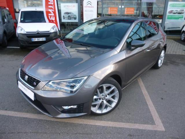 voiture occasion seat leon 2 0 tdi 150 fr dsg options. Black Bedroom Furniture Sets. Home Design Ideas