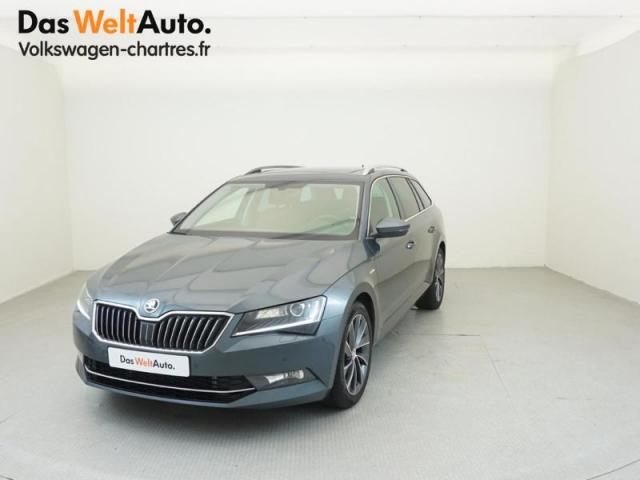 voiture occasion skoda superb iii combi tdi 190 laurin. Black Bedroom Furniture Sets. Home Design Ideas