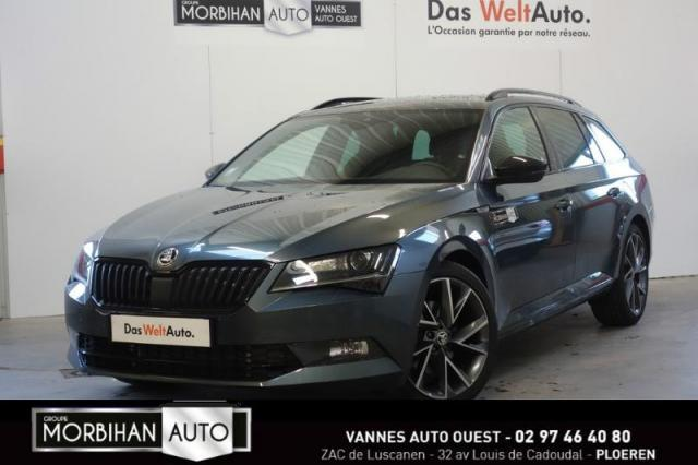 voiture occasion skoda superb 2 0 tdi190 scr greentec sportline dsg 2017 diesel 56880 ploeren. Black Bedroom Furniture Sets. Home Design Ideas