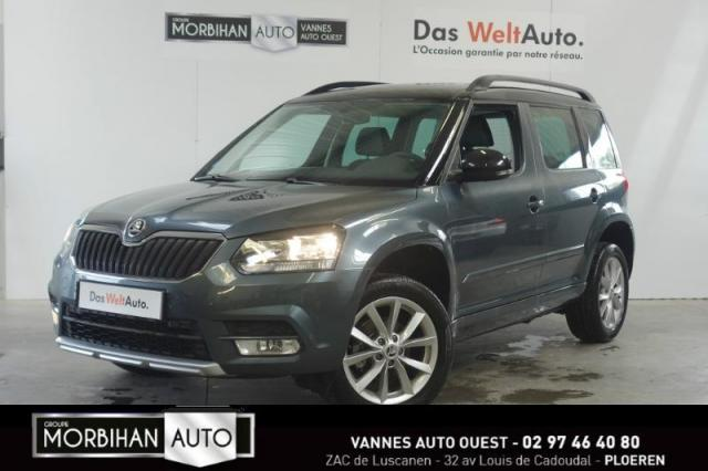voiture occasion skoda yeti 2 0 tdi 110 scr edition green tec 4x2 2016 diesel 56880 ploeren. Black Bedroom Furniture Sets. Home Design Ideas