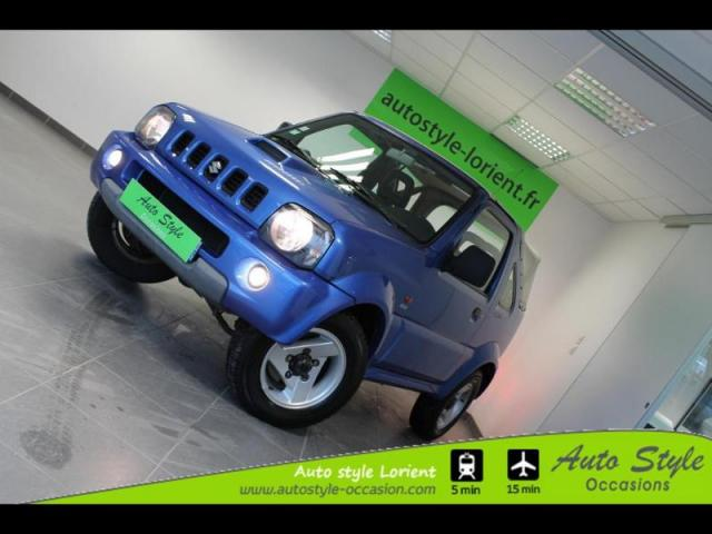 voiture occasion suzuki jimny 1 5 ddis jlx 2005 diesel 56600 lanester morbihan votreautofacile. Black Bedroom Furniture Sets. Home Design Ideas