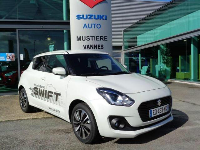 voiture occasion suzuki swift 1 2 dualjet hybrid shvs pack 2017 hybride 56300 pontivy morbihan. Black Bedroom Furniture Sets. Home Design Ideas