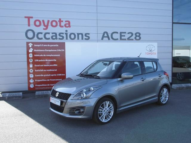 voiture occasion suzuki swift 1 6 vvt sport 3p 2013 essence 28500 vernouillet eure et loir. Black Bedroom Furniture Sets. Home Design Ideas