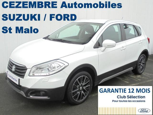 voiture occasion suzuki sx4 1 6 ddis 120ch pack allgrip 4x4 2014 diesel 35400 saint malo ille et. Black Bedroom Furniture Sets. Home Design Ideas