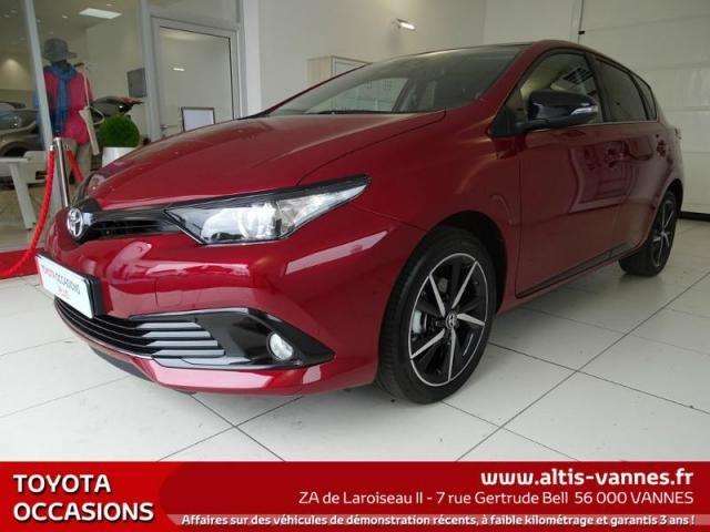 voiture occasion toyota auris 1 2 turbo 116ch collection 2017 essence 56000 vannes morbihan. Black Bedroom Furniture Sets. Home Design Ideas