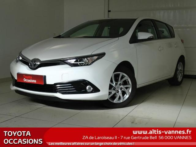 voiture occasion toyota auris 1 2t 116 dynamic 2015. Black Bedroom Furniture Sets. Home Design Ideas