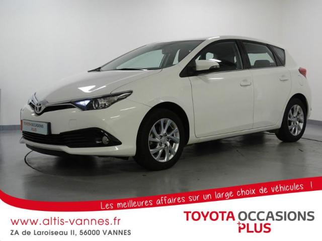 voiture occasion toyota auris 1 2t 116 dynamic 2015 essence 56000 vannes morbihan votreautofacile. Black Bedroom Furniture Sets. Home Design Ideas