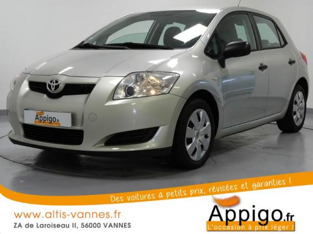 voiture occasion toyota auris 97 vvt i terra 5p 2007. Black Bedroom Furniture Sets. Home Design Ideas