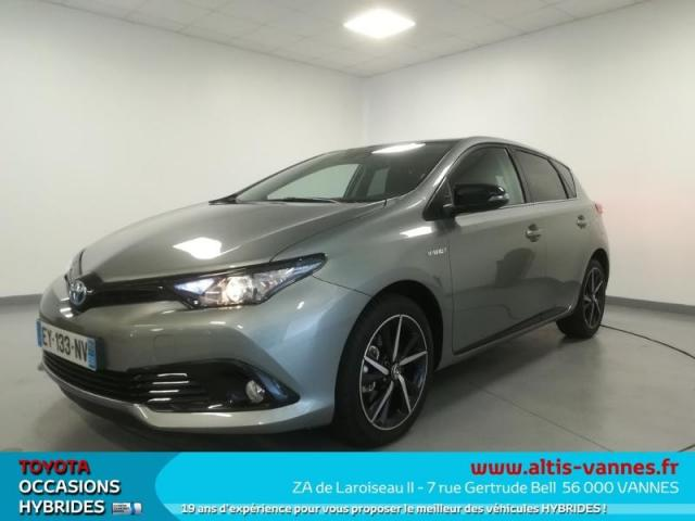 voiture occasion toyota auris hsd 136h collection 2018 hybride 56000 vannes morbihan. Black Bedroom Furniture Sets. Home Design Ideas