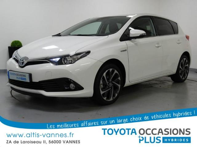 voiture occasion toyota auris hsd 136h design 2016 hybride 56000 vannes morbihan votreautofacile. Black Bedroom Furniture Sets. Home Design Ideas